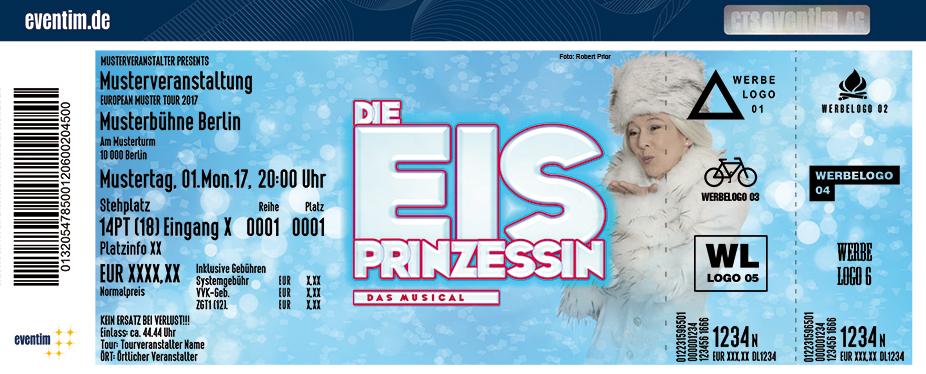 Karten für Die Eisprinzessin in Hockenheim