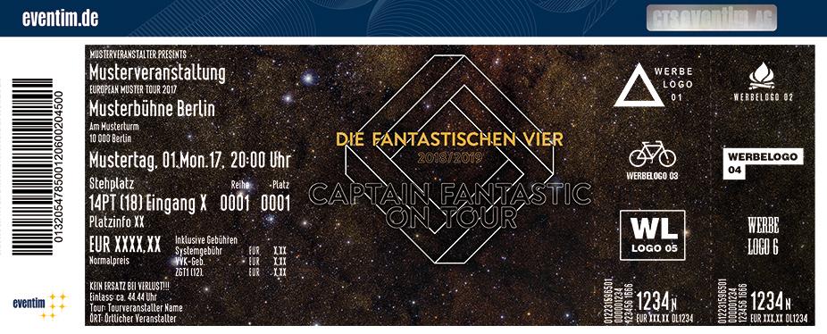 Karten für Die Fantastischen Vier: Captain Fantastic On Tour in Dortmund