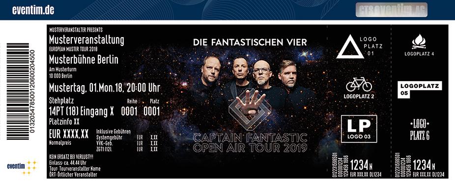 Die Fantastischen Vier - Captain Fantastic Open Air