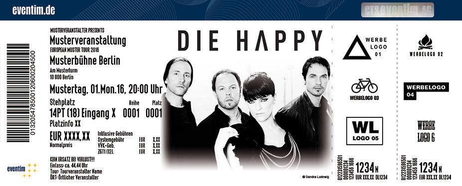 Karten für Die Happy in Köln