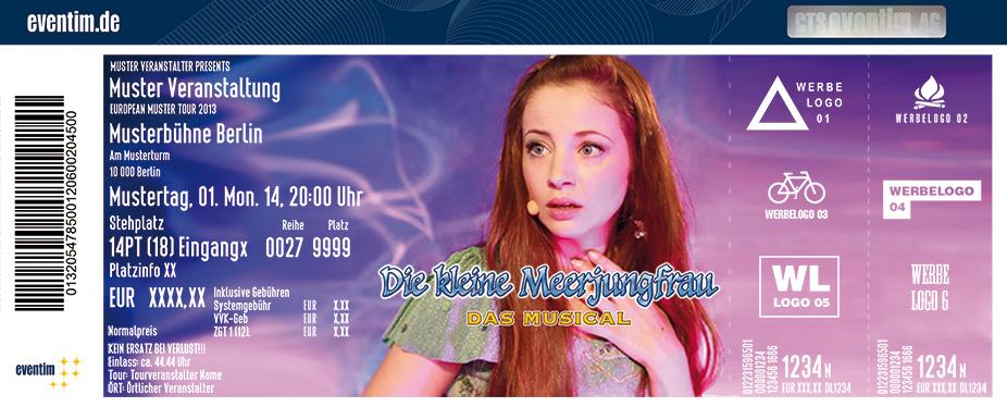 Die Kleine Meerjungfrau - Das Musical Karten für ihre Events 2017