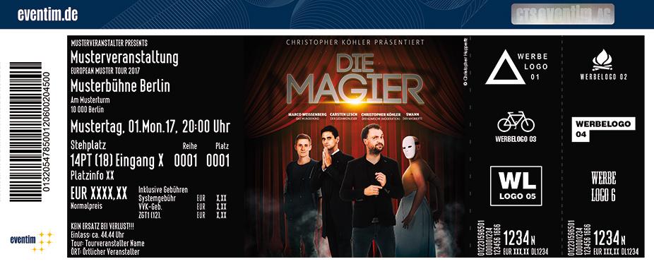 Karten für Die Magier in Paderborn