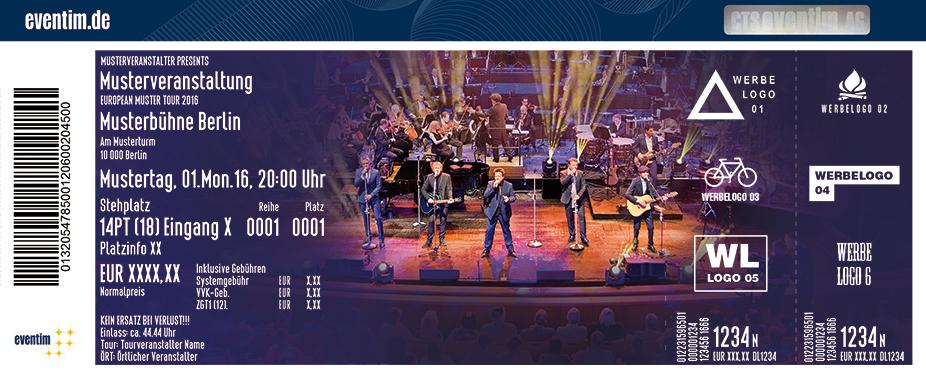 Karten für Die Prinzen mit Sinfonieorchester - Orchester der Musikalischen Komödie der Oper Leipzig in München