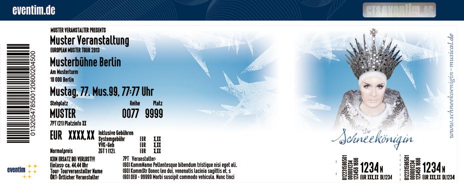 Karten für Die Schneekönigin - Das Musical in Dresden