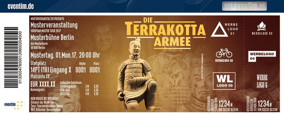 Karten für Die Terrakottaarmee & das Vermächtnis des Ewigen Kaisers in Dresden in Dresden