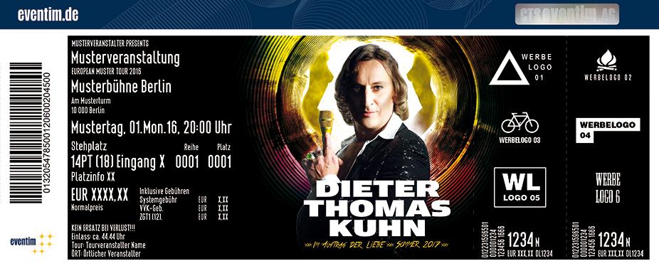 Karten für Dieter Thomas Kuhn & Band: Im Auftrag der Liebe Tour 2017 in Hamburg
