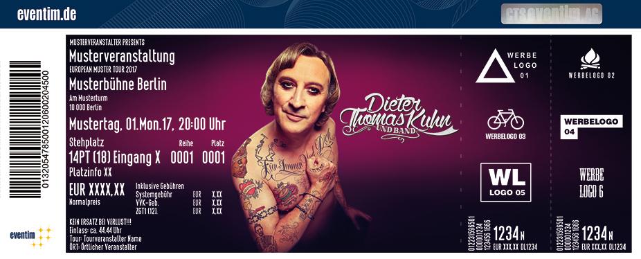 Karten für Dieter Thomas Kuhn & Band: Für immer und Dich - Tour 2018 in Hamburg