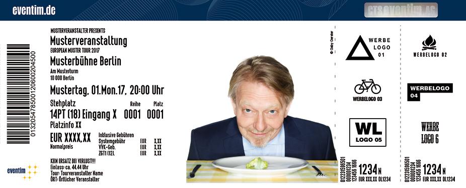 Karten für Dietmar Wischmeyer: Vorspeise zum jüngsten Gericht in Potsdam