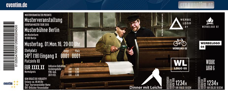 Karten für Dinner mit Leiche in Hohwacht / Ostsee