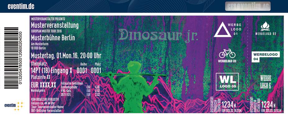 Dinosaur Jr. Karten für ihre Events 2017