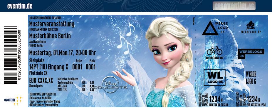 Karten für Disney in Concert - Die Eiskönigin in Salzburg