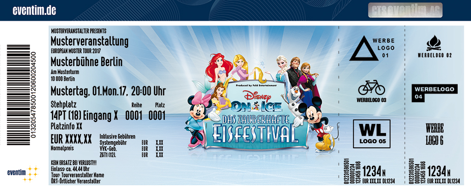 Disney On Ice Karten für ihre Events 2018