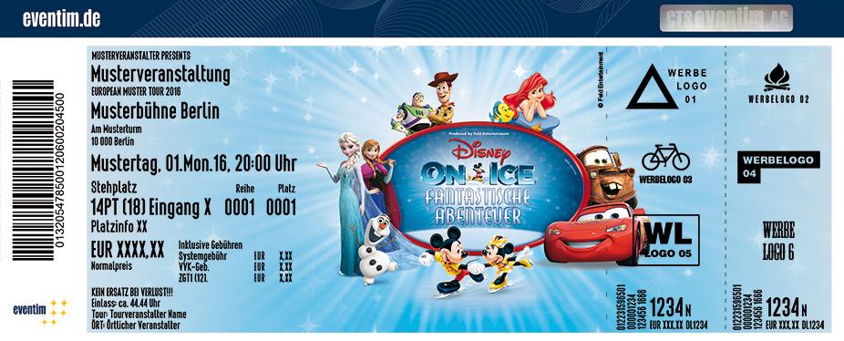 Karten für DISNEY ON ICE - Fantastische Abenteuer in Berlin