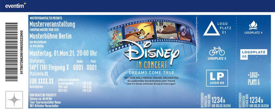 Disney In Concert - Dreams come true | Mit dem Hollywood-Sound-Orchestra