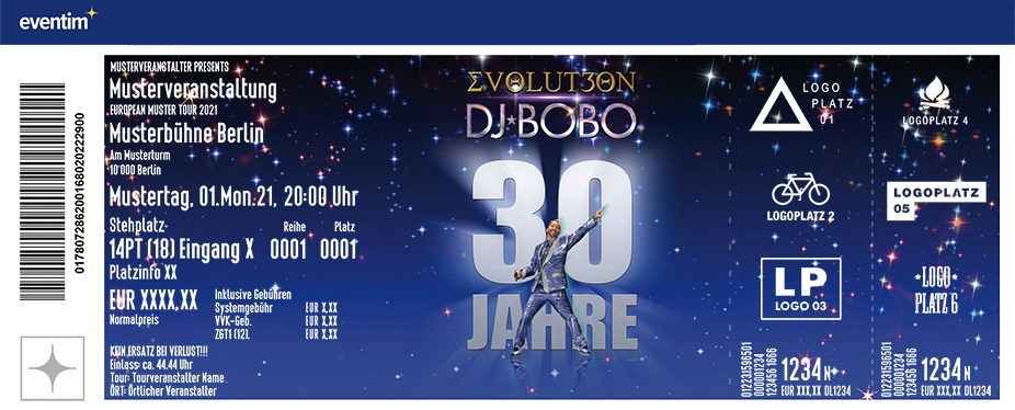 DJ BoBo - EVOLUT30N Tour