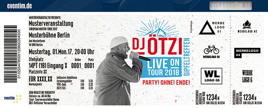 Karten für DJ Ötzi: Gipfeltreffen - Das große Bergfest - Live on Tour 2018 in Regensburg-Obertraubling