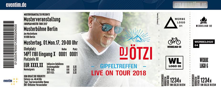 Karten für DJ Ötzi: Gipfeltreffen - Das große Bergfest - Live on Tour 2018 in Tuttlingen
