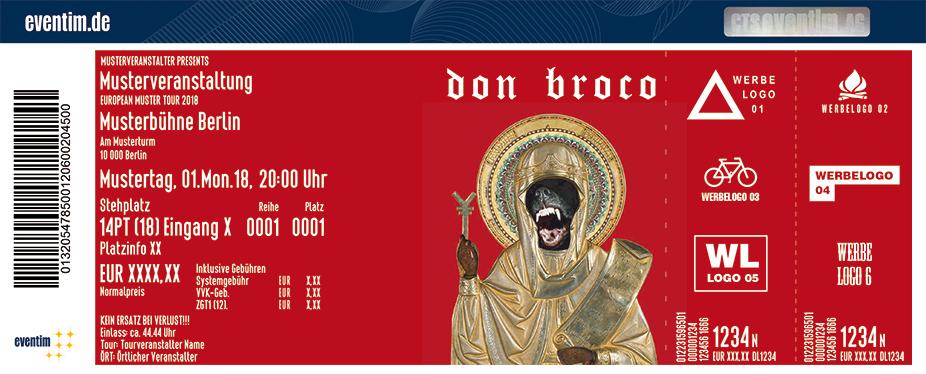 Karten für Don Broco in München