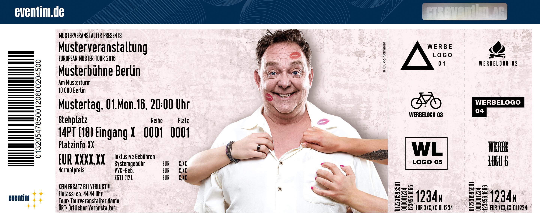 Karten für Don Clarke: SexundSechzig in Schleswig