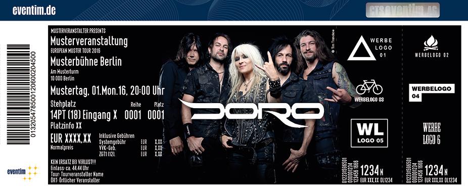 Karten für Doro: Strong & Proud Tour 2017 in München