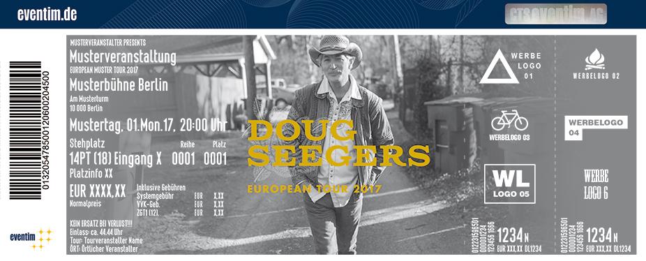 Karten für Doug Seegers in Hamburg