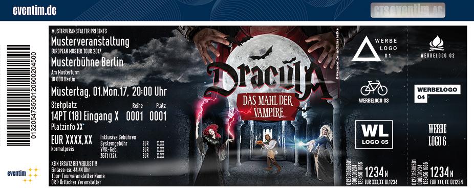 Karten für Dracula: Das Mahl der Vampire / Die Gruselkomödie mit Dinner-Menü in Bückeburg