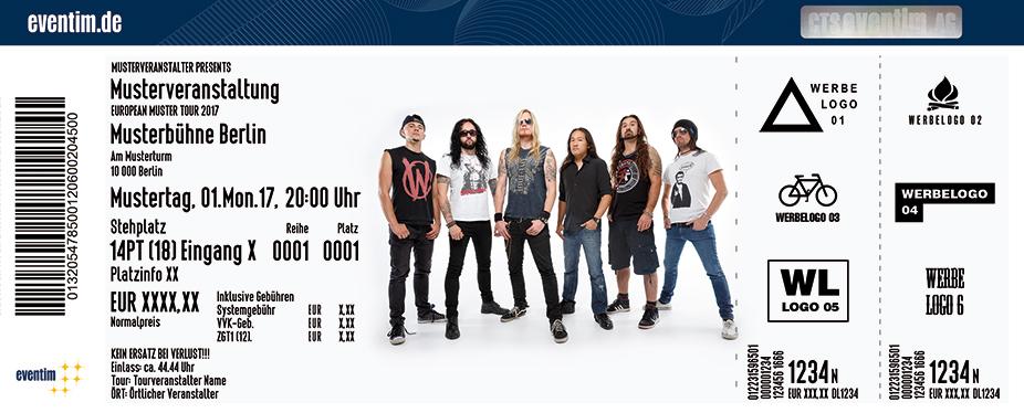Karten für Dragonforce in Wien