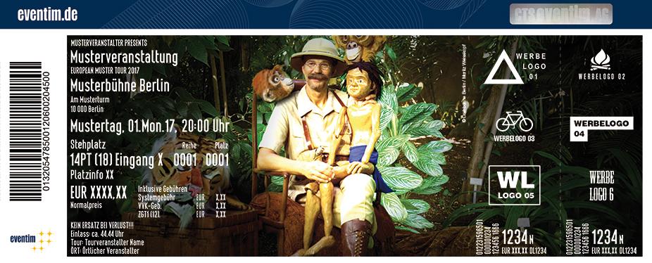 Karten für Das Dschungelbuch - Drehbühne Berlin in Berlin