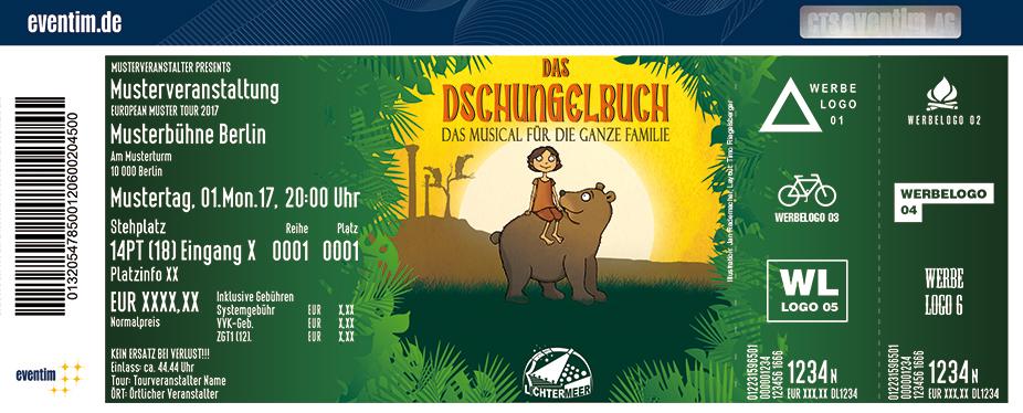 Karten für Das Dschungelbuch - das Musical für die ganze Familie / Theater Lichtermeer in Hamburg