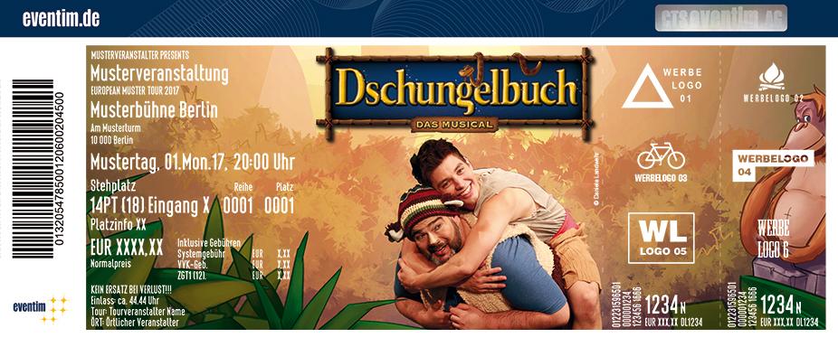 Karten für Dschungelbuch - das Musical in Ludwigsfelde