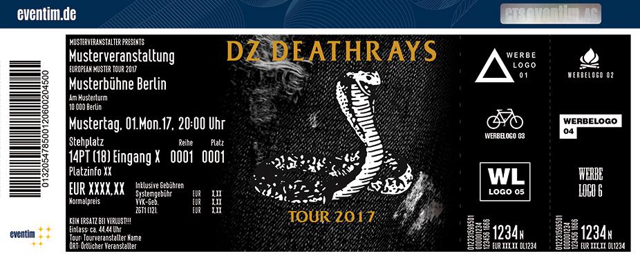 Karten für DZ Deathrays in Leipzig