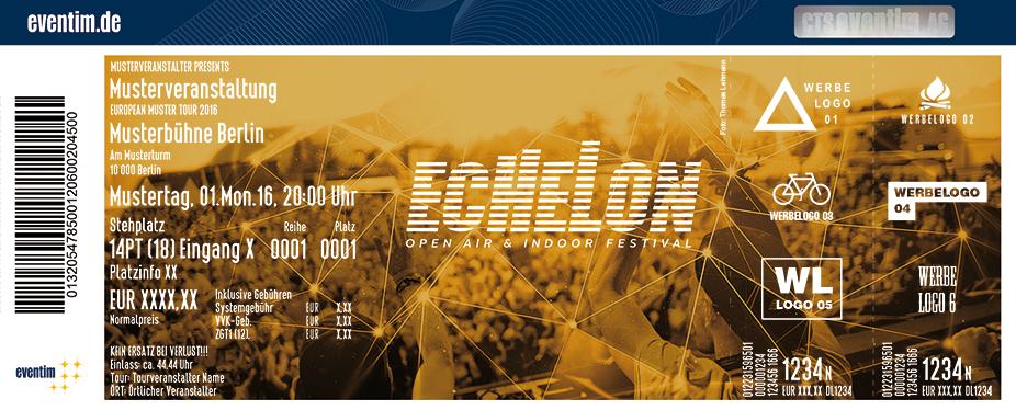 Echelon Open Air Karten für ihre Events 2017