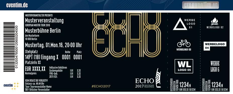Echo - Deutscher Musikpreis Karten für ihre Events 2017