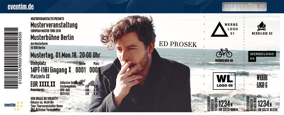 Karten für Ed Prosek in München