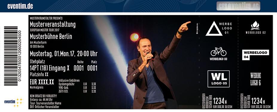 Karten für Eddi Hüneke: Eddis Welt Vol. 01 - Startschuss in Hamburg
