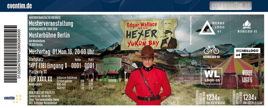 Karten für Edgar Wallace und der Hexer von Yukon Bay in Hannover