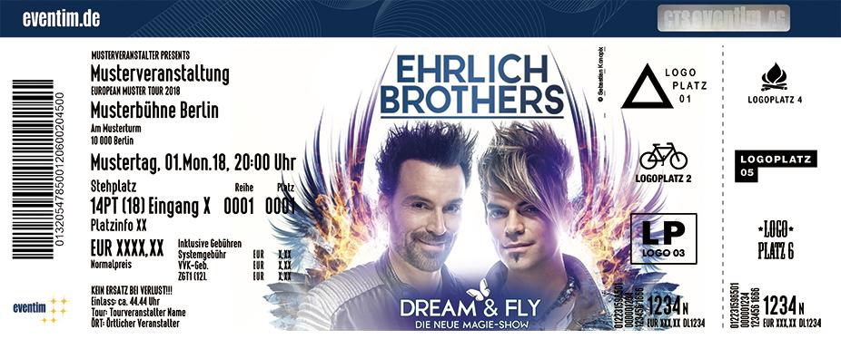 Ehrlich Brothers - Dream & Fly - Die neue Magie Show