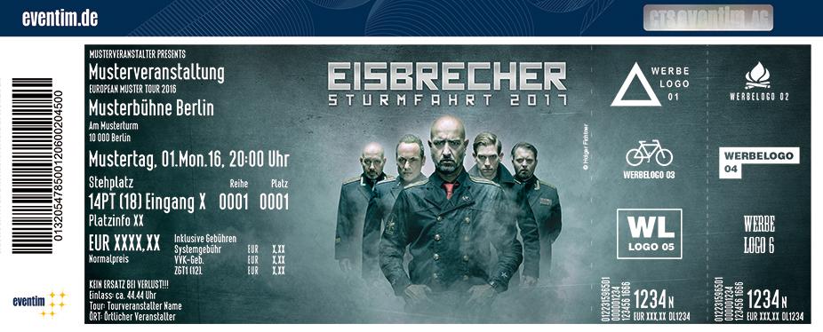 Karten für Eisbrecher: Sturmfahrt 2017 in Berlin