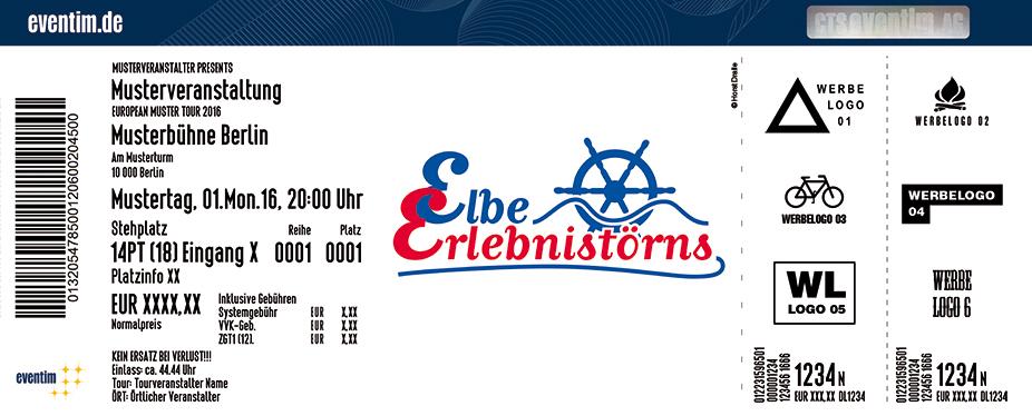 Karten für Große Hafenrundfahrt - Elbe Erlebnistörns in Hamburg