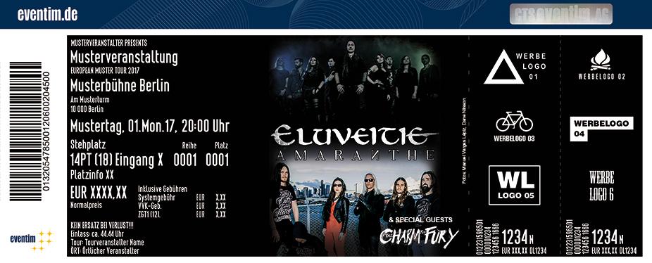 Eluveitie Karten für ihre Events 2017