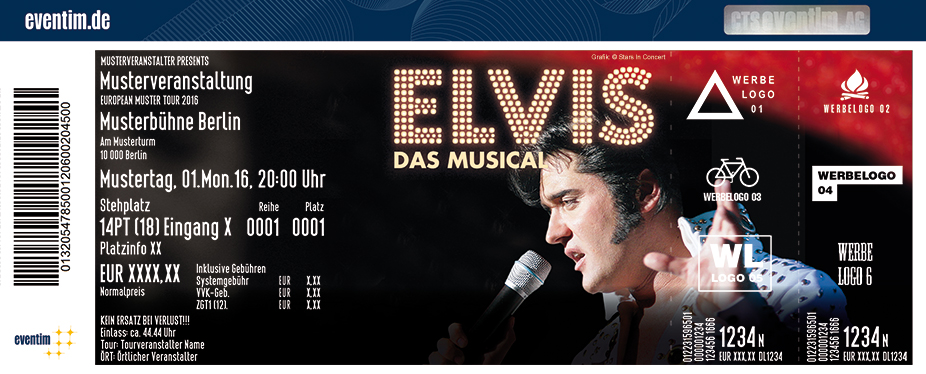 Karten für Elvis - Das Musical | ESTREL Festival Center Berlin in Berlin