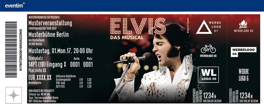 Karten für ELVIS - Das Musical in Regensburg