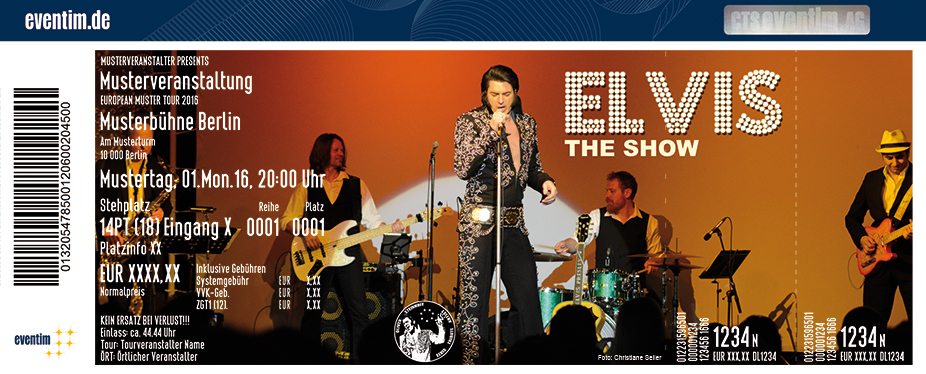 Karten für Oliver Steinhoff + Band: Elvis The Show in Herne
