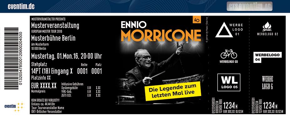 Ennio Morricone Karten für ihre Events 2017