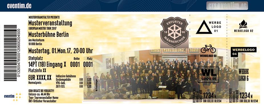 Erfurter Männerchor Karten für ihre Events 2017