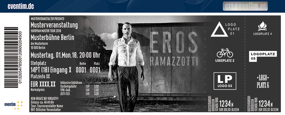 Eros Ramazzotti: Vita Ce N'è World Tour 2019