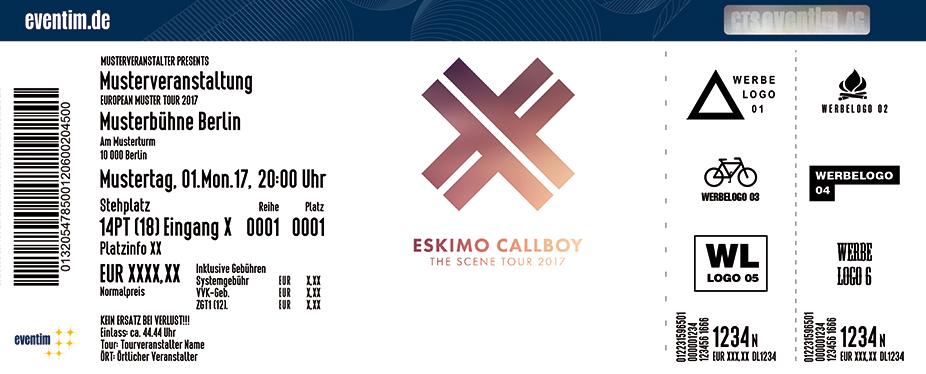 Karten für Eskimo Callboy in Wien