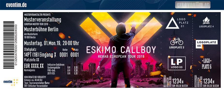Eskimo Callboy - Rehab Tour 2019