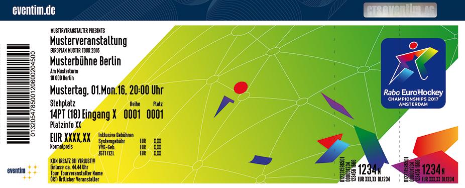 Karten für Rabo Eurohockey Championships 2017 in Amsterdam