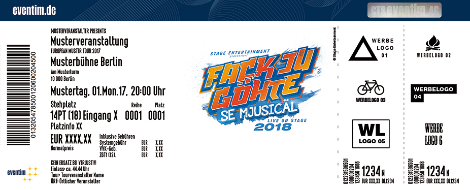 Karten für FACK JU GÖHTE - Se Mjusicäl in München in München